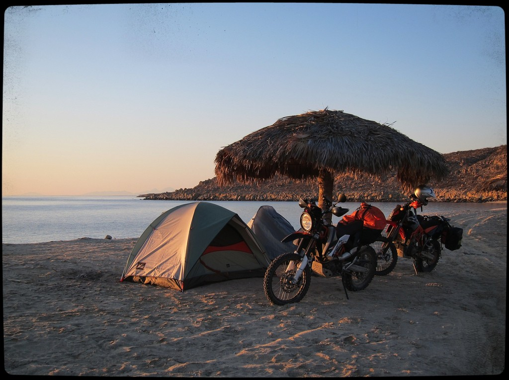 Camp @ Pte. San Francisquito, Photo by Carl